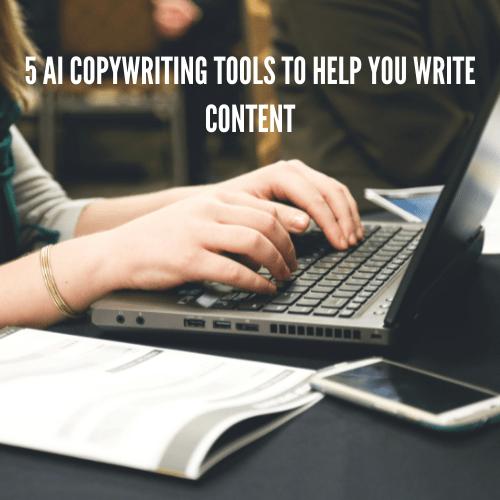 AI copywriting tools