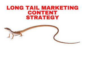 Long Tail marketing content strategy example finder